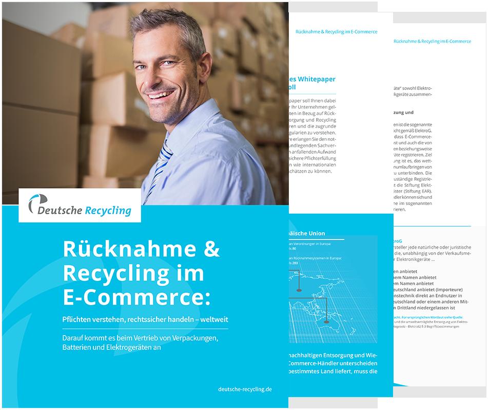Recycling-Pflichten für Onlinehändler: Vorschau auf das Whitepaper
